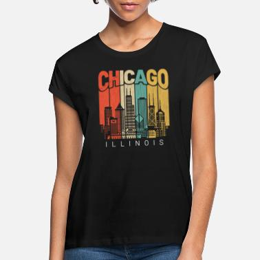 Chicago Chicago Illinois - Women's Loose Fit T-Shirt