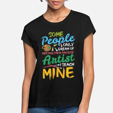 Artist artist painter art artist female artist painting - Women's Loose Fit T-Shirt
