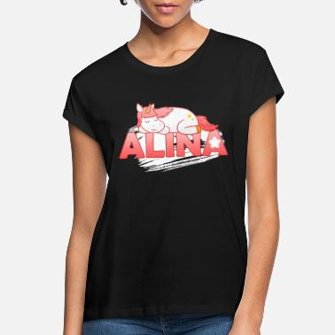 First Name Alina First name Last name - Women's Loose Fit T-Shirt