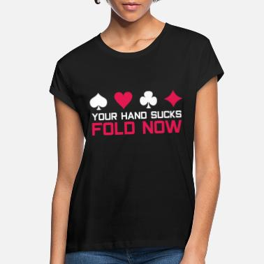 Bluff Poker bluff - Women's Loose Fit T-Shirt
