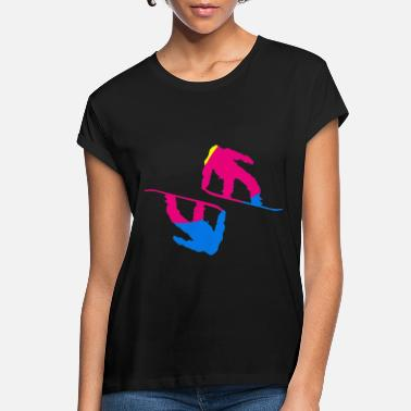 Snowboard Snowboarder snowboarding boarder snow - Women's Loose Fit T-Shirt