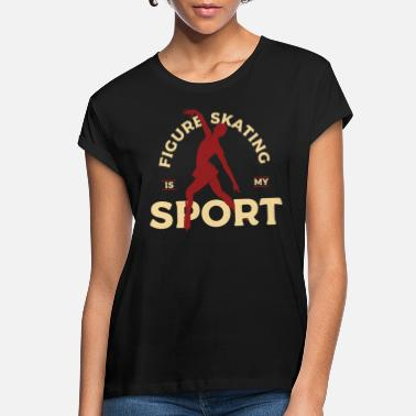 Ice Ice Skating Sport Gift - Women's Loose Fit T-Shirt