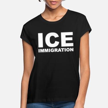 ICE IMMIGRATION Mens Cotton T-Shirt law enforcement police