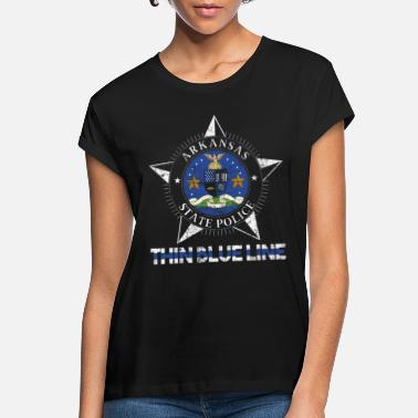Arkansas Arkansas State Police Shirt Arkansas State Trooper Shirt - Women's Loose Fit T-Shirt