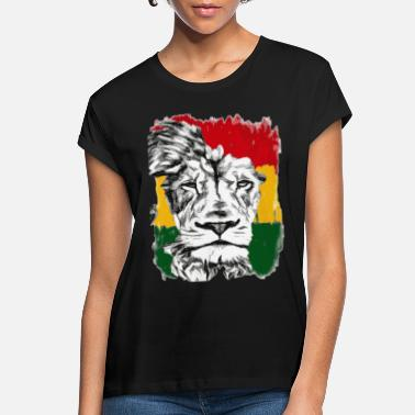 Rasta Rasta Lion - Women's Loose Fit T-Shirt