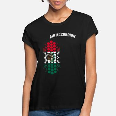 Accordion Air Accordion champions - Flag of Mexico - Women's Loose Fit T-Shirt