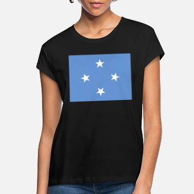 Federal State Federal States of Micronesia Flag - Women's Loose Fit T-Shirt
