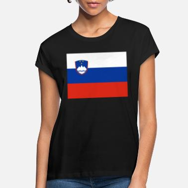 Slovenia Flag white t shirt top country design mens womens kids /& baby sizes