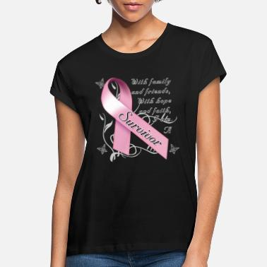 Breast Cancer Awareness Breast Cancer Survivor - Women's Loose Fit T-Shirt