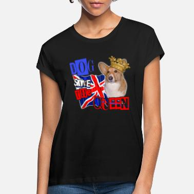 God dog save the queen london 2012 celebration tee - Women's Loose Fit T-Shirt