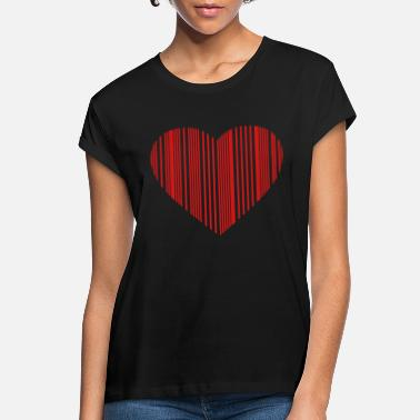 Marriage barcode love - Women's Loose Fit T-Shirt