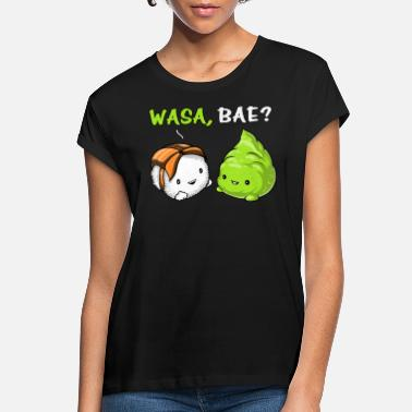Kawaii Sushi Wasa Wasabi Cute Couple - Women's Loose Fit T-Shirt