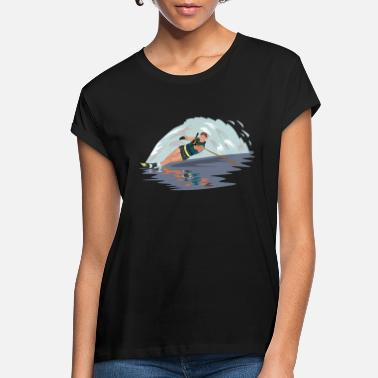 Water water skiing water ski wasser3 - Women's Loose Fit T-Shirt