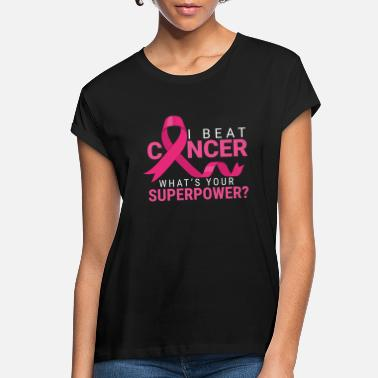 Pink Cancer Shirt - Pink Ribbon Gift - Women's Loose Fit T-Shirt