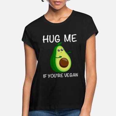 56cb8679 Hug Me if You`re Vegan - Funny Avocado Gift - Women'