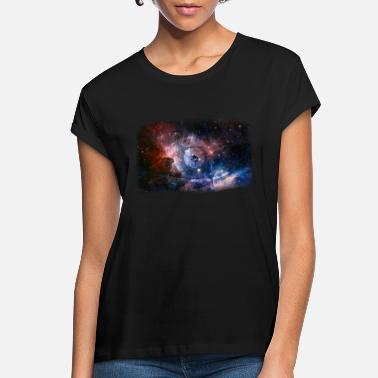 Women's Tee Birds Space Masked Galaxy Stars Universe Novelty Print TS1345