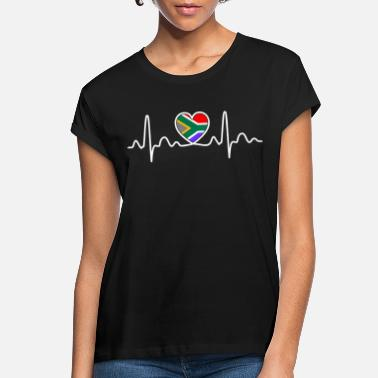 South South Africa Heartbeat Tshirt - Women's Loose Fit T-Shirt