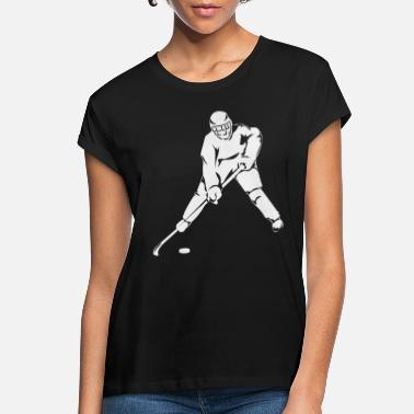 Ice Hockey Player Ice hockey player - Women's Loose Fit T-Shirt