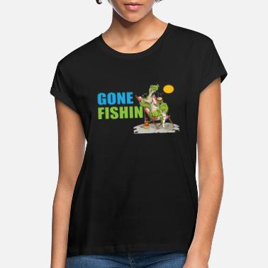 Alster Gone Fishin No 4 - Women's Loose Fit T-Shirt