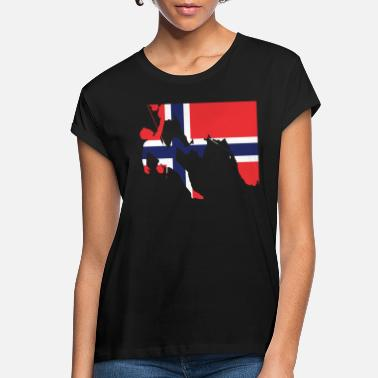 Norway Norway - Women's Loose Fit T-Shirt