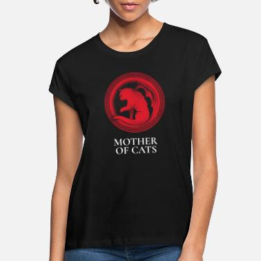 Mother MOTHER OF CATS - Women's Loose Fit T-Shirt