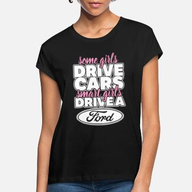 Michael Clifford Smart girls drive a ford - Women's Loose Fit T-Shirt