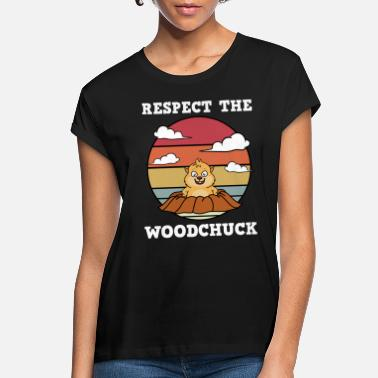 Whistler Canada Respect The Woodchuck - Women's Loose Fit T-Shirt