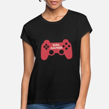 GIRL GAMER - Women's Loose Fit T-Shirt