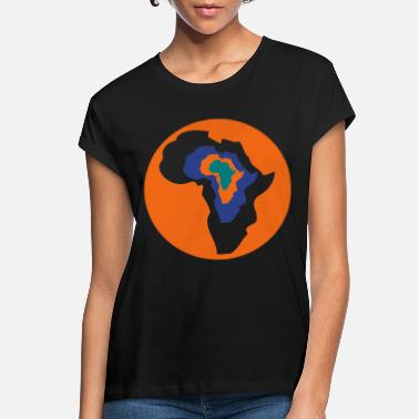 Continent Customizable Continent - Women's Loose Fit T-Shirt