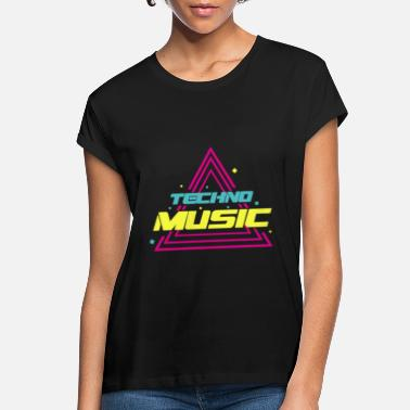 Techno Music TECHNO MUSIC - Women's Loose Fit T-Shirt