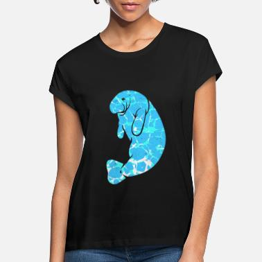 Manatee Manatee - Women's Loose Fit T-Shirt