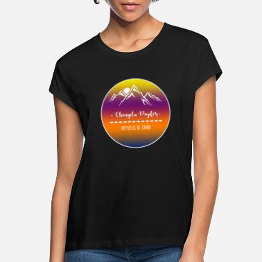 Ladies fit People/'s Republic of China T Shirt