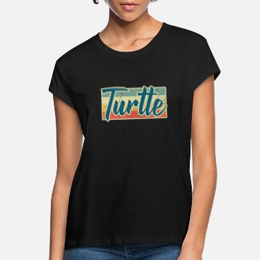 Turtle Doves Turtle Animal Rights Turtle Doves Sea Turtle Gift - Women's Loose Fit T-Shirt