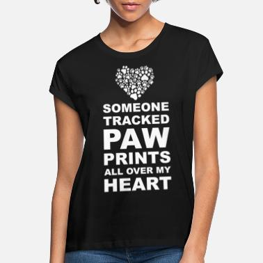 Dog Paw Paw Cat Dog Lover Gift - Women's Loose Fit T-Shirt
