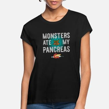 Hormone Diabetes Typ 1 - Monster ate my Pancreas - Women's Loose Fit T-Shirt