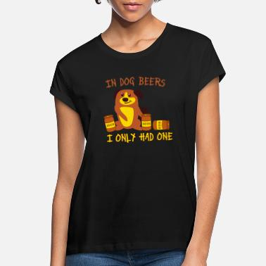 Party Dog Beer - Women's Loose Fit T-Shirt