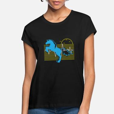 Forest Horse Heartbeat - Nature Lover Gift - Women's Loose Fit T-Shirt