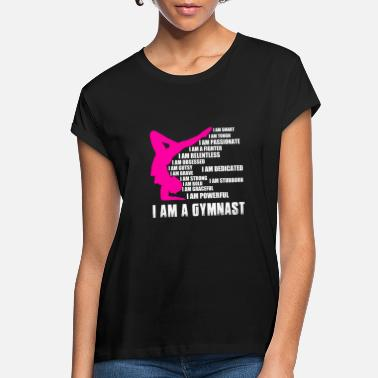Gymnastics Gymnast - I am smart, tough, passionate, gutsy - Women's Loose Fit T-Shirt