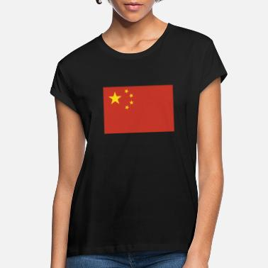 China Flag of China, Chinas flag, China flag, flag China - Women's Loose Fit T-Shirt