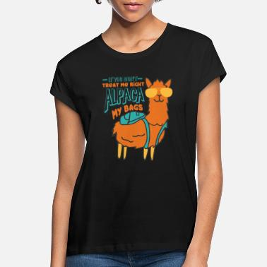 New Years Resolutions Alpaca - Women's Loose Fit T-Shirt