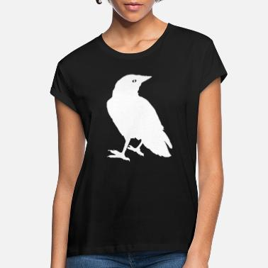 Winter Scarf Raven winter scarf - Women's Loose Fit T-Shirt