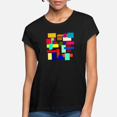 Rectangle Rectangles - Women's Loose Fit T-Shirt