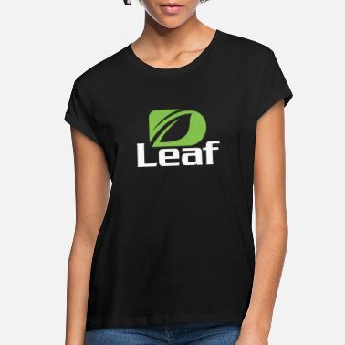 Hemp D Leaf Style - Women's Loose Fit T-Shirt