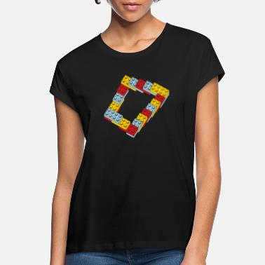 Brick optical illusion - endless steps - Women's Loose Fit T-Shirt