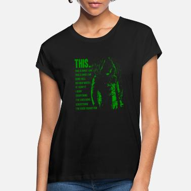 Arrow Green arrow - This is what I am awesome t-shirt - Women's Loose Fit T-Shirt