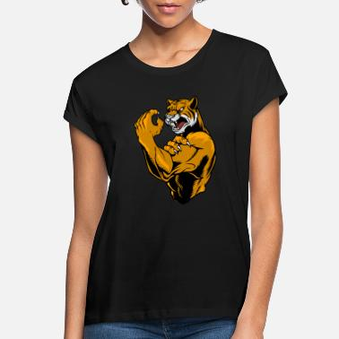 Mascot Tiger Fighter - Women's Loose Fit T-Shirt