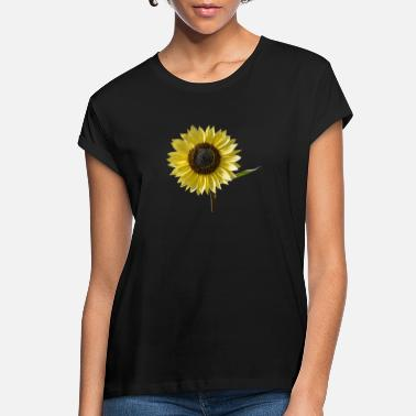 Sun beautiful sun flower blossom - Women's Loose Fit T-Shirt