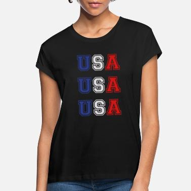 Usa USA USA USA - Women's Loose Fit T-Shirt
