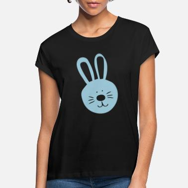 Personalised Easter Bunny Rabbit Face Girls Children/'s Kids T Shirts T-Shirt Top