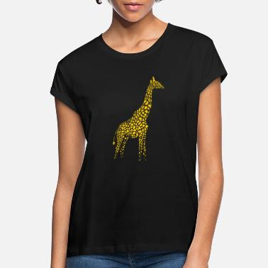 Spreadshirt Spreadshirt Giraffe - Women's Loose Fit T-Shirt